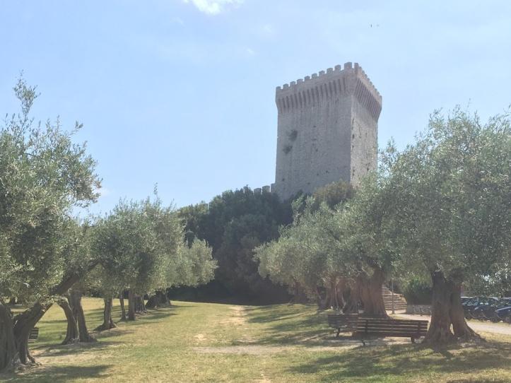 Burcht van Trasimeno toren