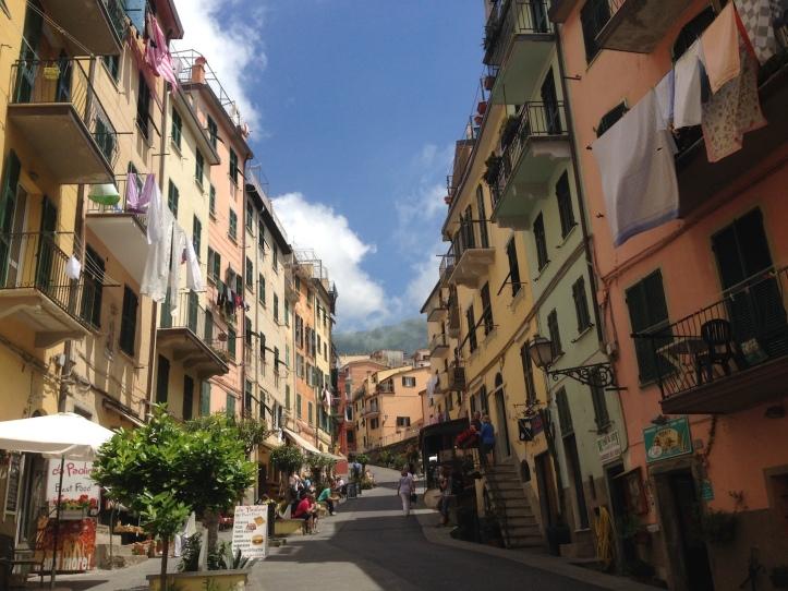 Riomaggiore straatbeeld