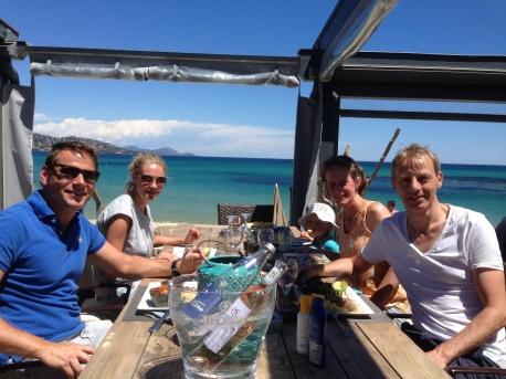 ...en we genieten samen van een heerlijke lunch