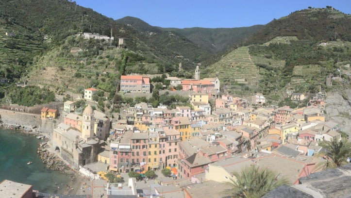 Vernazza vanaf castello