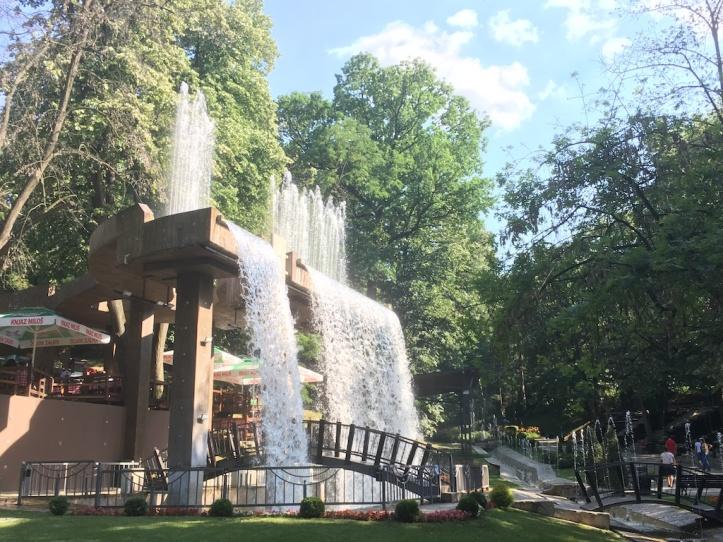 Jagodina park waterval