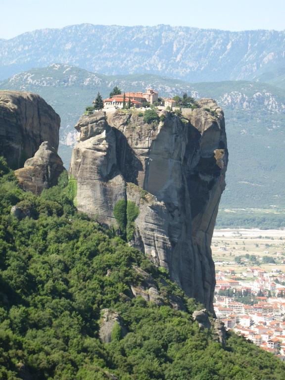 Klooster Triada diepte close