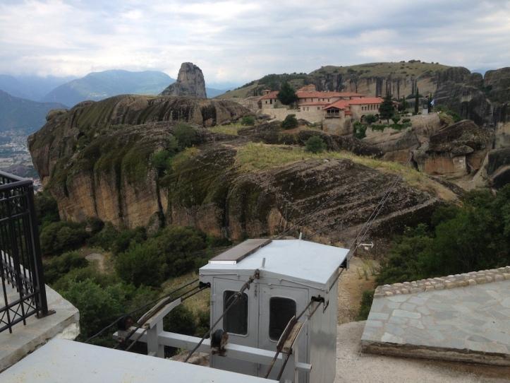 Klooster Triada kabelbaan