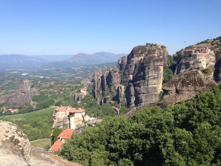 Kloosters Meteora overzicht