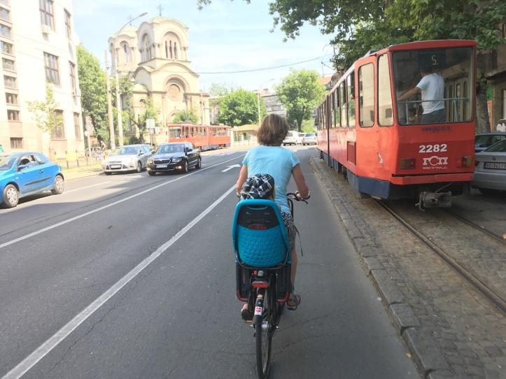 Belgrado fietsen