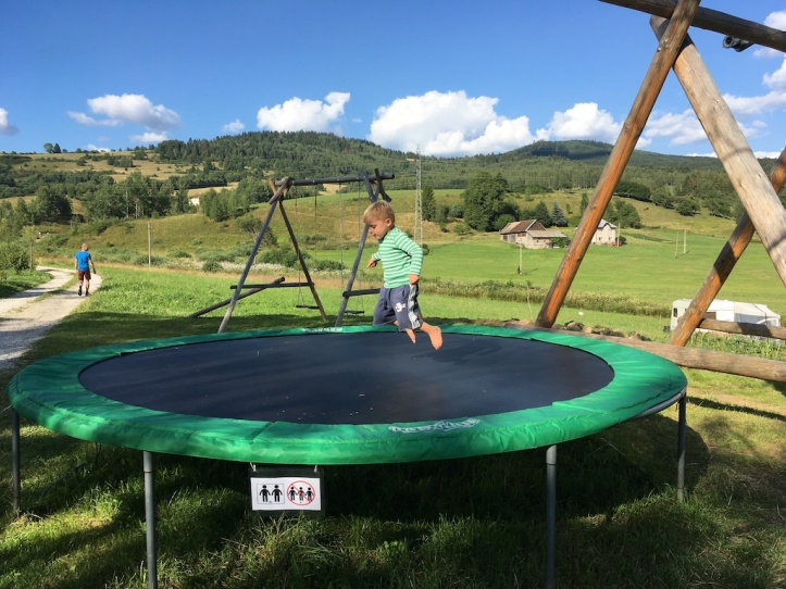 Boerenhof trampoline