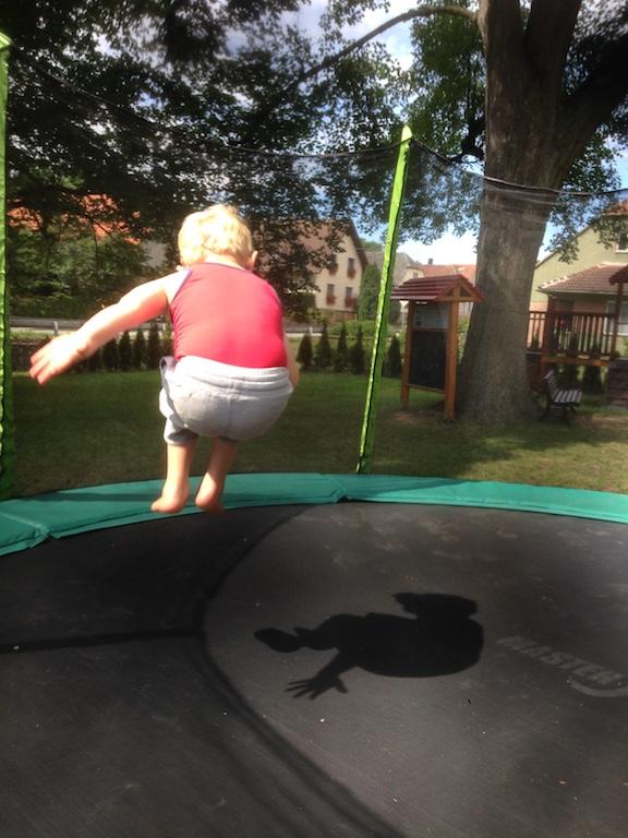 Cihalin trampoline
