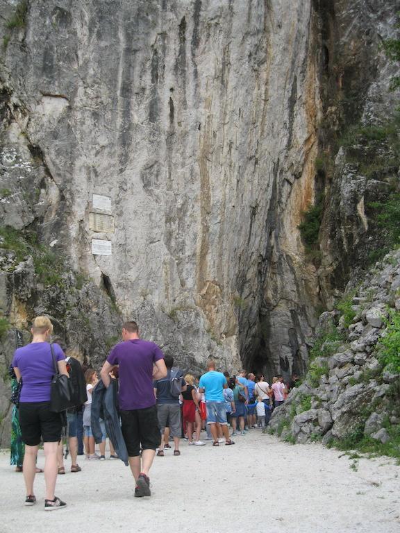 Grotten ingang