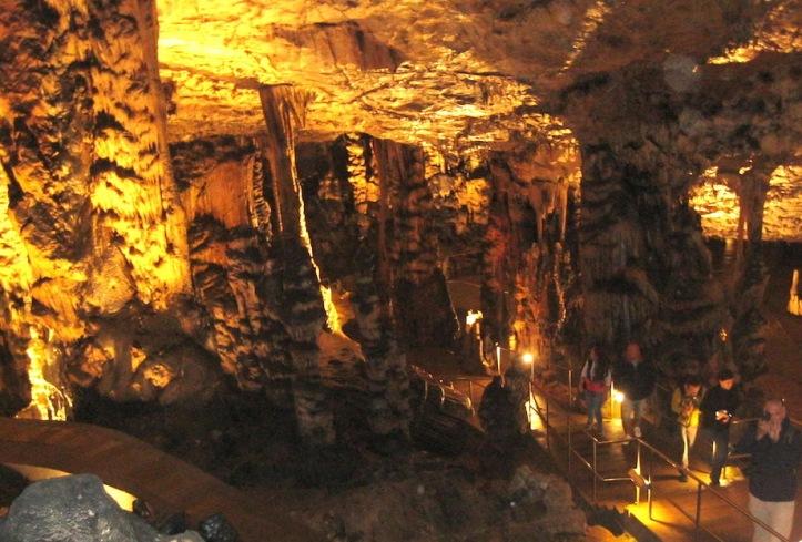 Grotten paden