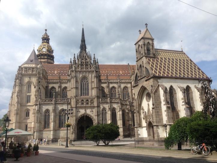Kosice kathedraal en kapel