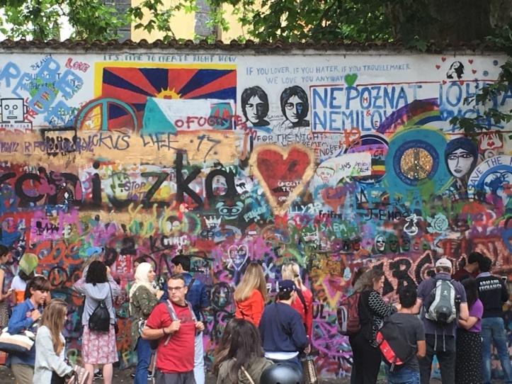 Praag Lennon Wall