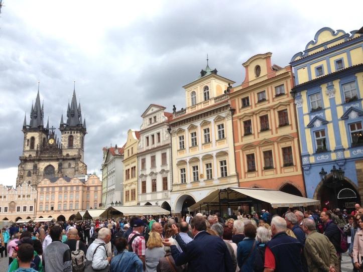 Praag Oude Stadsplein