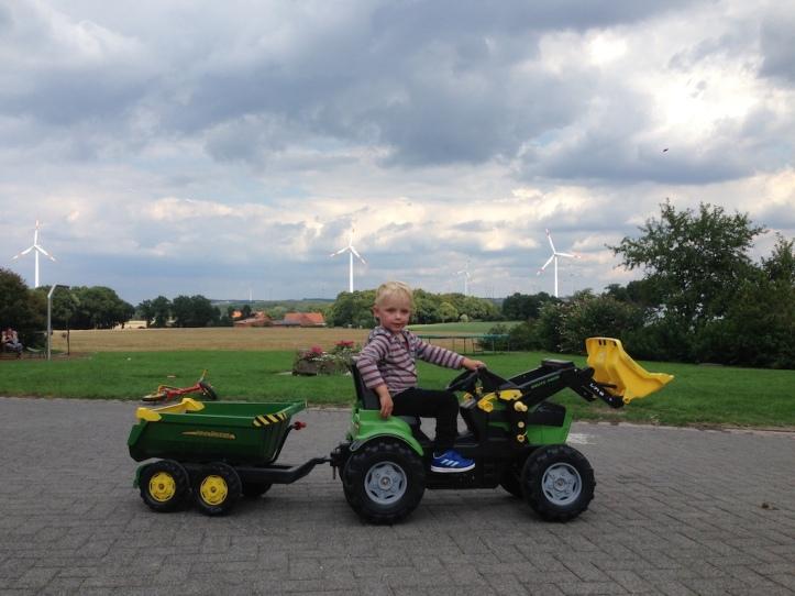 Wenker tractor uitzicht